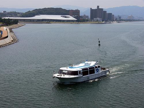 宍道湖観光遊覧船 はくちょう号
