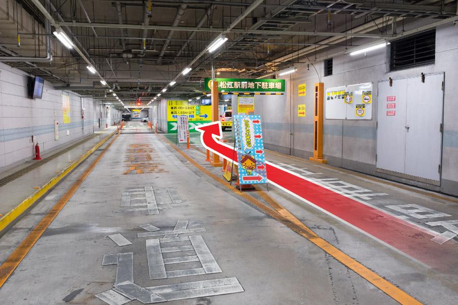 松江駅前地下駐車場(機械式)_04